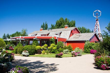 The Berry Barn is an old barn converted into a restaurant is only minutes from Saskatoon and is one of Saskatoon's most popular attractions. Stock Photo - 6715095