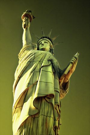 declaration: The Statue of Liberty is a monument commemorating the centennial of the signing of the United States Declaration of Independence, given to the United States by the people of France.