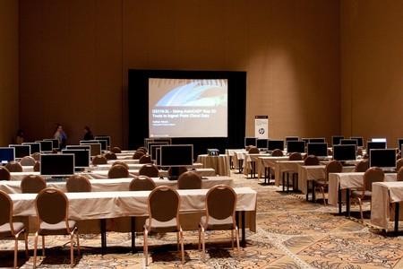 マンダレイ ・ ベイにあるホテルおよびカジノ ラスベガス、ネバダ州ラスベガス - 12 月 1 日: オートデスク大学 2009 年会議教室 2009 年 12 月 3 日。