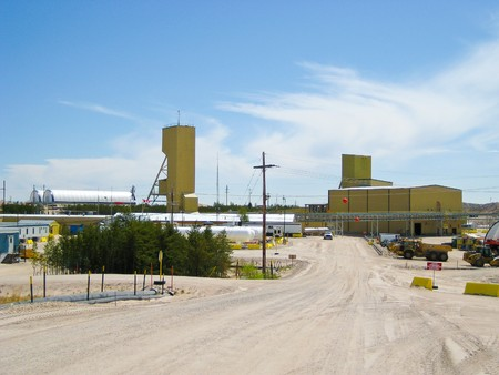 CIGAR LAKE - JUNE 8: Cigar Lake Mine is the largest undeveloped high grade uranium deposit in the world, located in northern Saskatchewan, Canada.