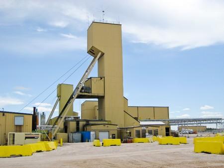 CIGAR LAKE - JUNE 8: Cigar Lake Mine is the largest undeveloped high grade uranium deposit in the world, located in northern Saskatchewan, Canada. Stock Photo - 7405438