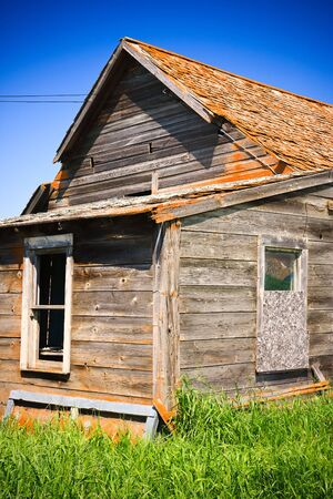 Old farm buildings on the Canadian prairies. Stock Photo - 7581834