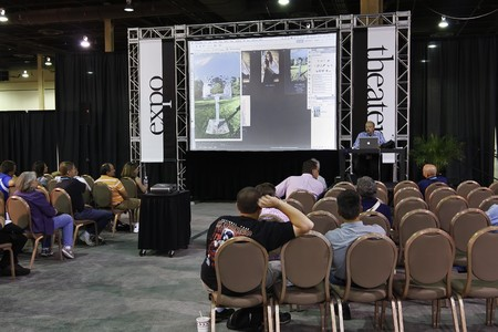 LAS VEGAS - SEPT 1: Photoshop World 2010 conference classroom. September 1, 2010 in Las Vegas, Nevada. Stock Photo - 7840119