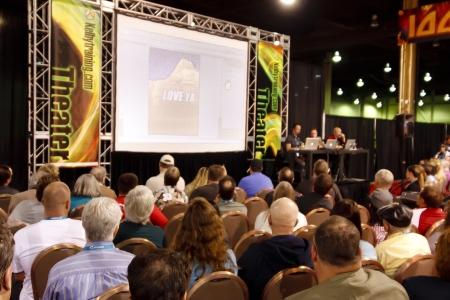 ラスベガス - 9 月 2 日: Photoshop 世界 2010年会議トレーニング教室。ラスベガス、ネバダ州で 2010 年 9 月 2 日