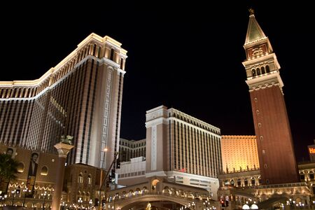 than: LAS VEGAS - October 23: Venetian Hotel and Casino on the Las Vegas Strip, Nevada October 23, 2006. More than 37.5 million people visit Las Vegas every year.
