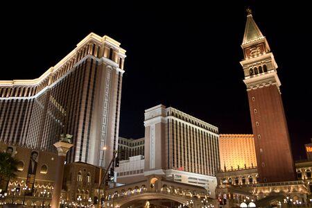 LAS VEGAS - October 23: Venetian Hotel and Casino on the Las Vegas Strip, Nevada October 23, 2006. More than 37.5 million people visit Las Vegas every year.