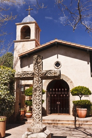 sedona: Tlaquepaque Chapel in the heart of Sedona, Arizona