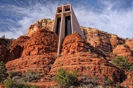 catholic chapel: Chapel of the Holy Cross is an iconic Catholic chapel built into the mesas  of Sedona, Arizona