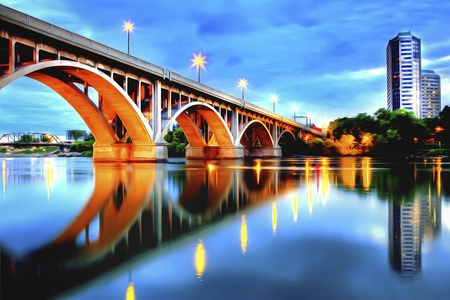 Saskatoon is located in central Canada and is popularly described as the