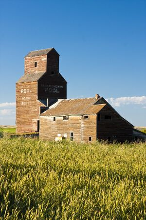 Vintage old-fashioned buildings abandoned in an old ghost town Stock Photo - 12175152