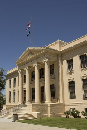 Inyo County Court House in Independence, California