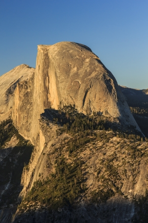 Glacier Point is the best view of Half Dome at Yosemite National Park Stock Photo - 15010702