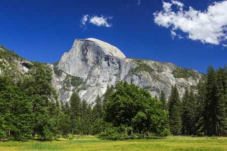 Beautiful Yosemite Valley with Half Dome in the distance Stock Photo - 15703806