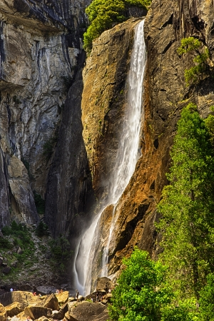 Upper Yosemite Falls, Yosemite National Park, California, USA photo