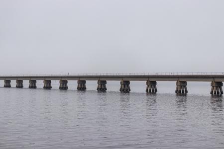 Biloxi bay railroad bridge