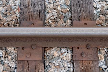 Railroad tie and track