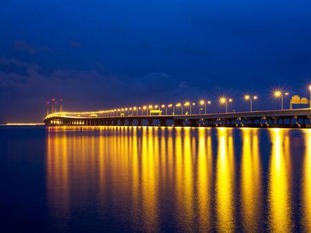 pinang: 2nd Penang Bridge at Penang Malaysia