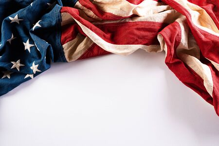 Happy Memorial Day. American flags with the text REMEMBER & HONOR against a white background.