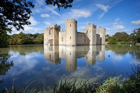 sussex: Bodiam castle, East Sussex Editorial