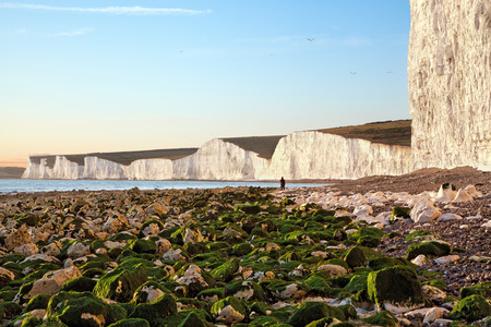 Seven sisters at Eastbourne, East Sussex