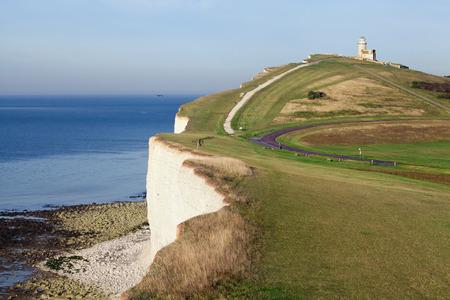 tout: Belle Tout Lighthouse, Seven sisters cliffs, Sussex