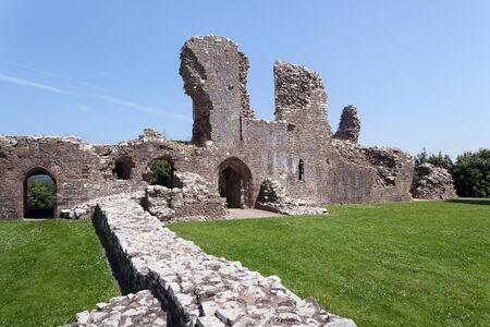 pembrokeshire: Llawhaden Castle ruins, Pembrokeshire, Wales