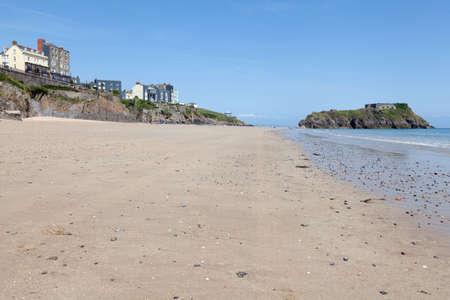 tenby wales: Tenby beach, West Wales