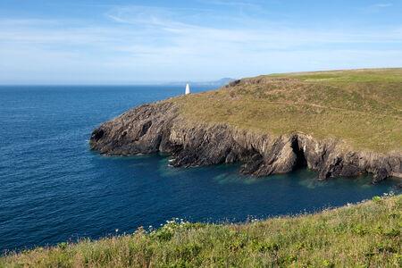 pembrokeshire: Pembrokeshire coast, summer landscape