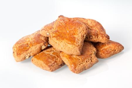 sycylijski: Sicilian cookies with almonds Zdjęcie Seryjne