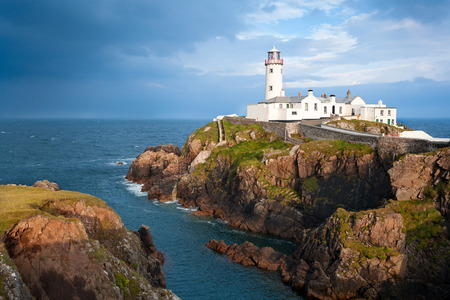 Phare Fanad Head Banque d'images