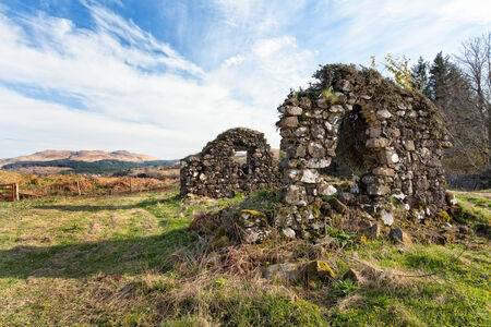 Mull: Old ruins on the Isle of Mull