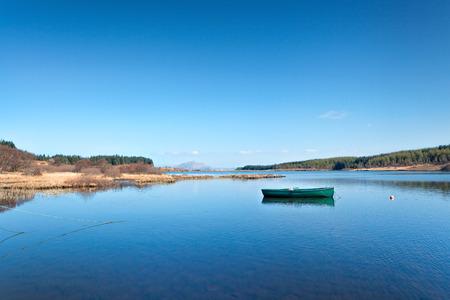 Mull: Mishnish Lochs, Isle of Mull Stock Photo