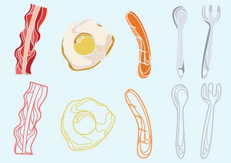 eats: breakfast Illustration