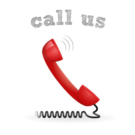 Call us vector icon Stock Vector - 17577596