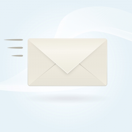 Send mail icon Stock Vector - 17577595