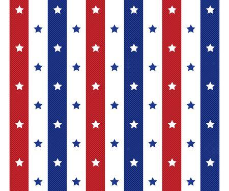american seamles polka star pattern background    イラスト・ベクター素材