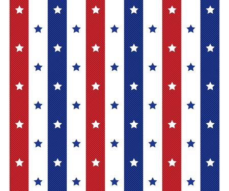 american seamles polka star pattern background   Illustration