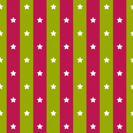 retro seamless polka violet green star seamless background  Vector illustration  Stock Vector - 23258407