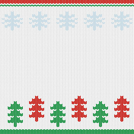 nordic merry christmas handcraft vector background card