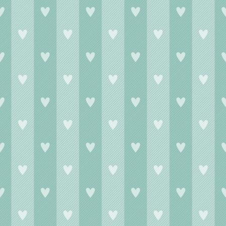 hearth: Abstract geometric retro seamless polka hearth background  Vector illustration  Illustration