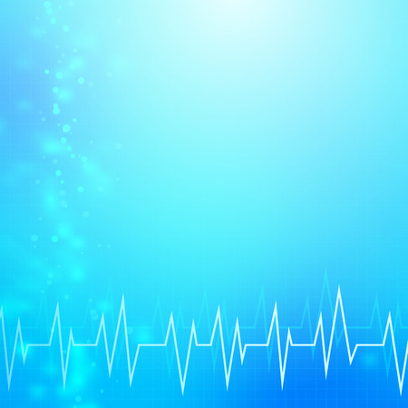 medical technology: Abstract blue medical technology background.