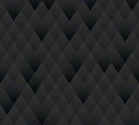 Vector seamless background  Dark gray geometric texture   Vector