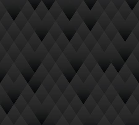 futuristic interior: Vector seamless background  Dark gray geometric texture