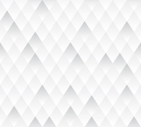 Vector seamless background  White and gray geometric texture