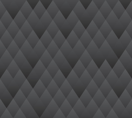 Vector seamless background pattern  dark grey geometric texture    Vector
