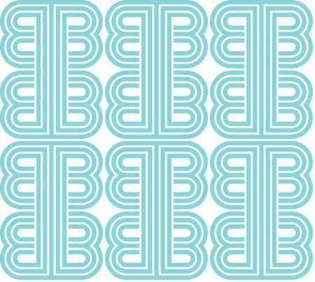 vintage retro seamless geometric pattern on paper background
