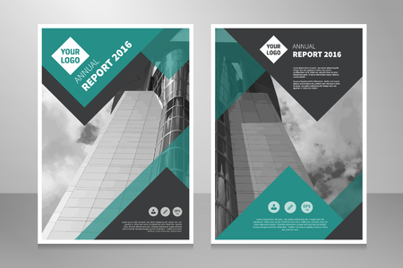 annual report: Modern editable annual report