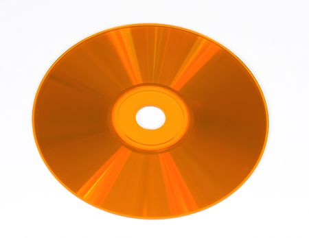 cdrom: colored compact disk isolated on white Stock Photo