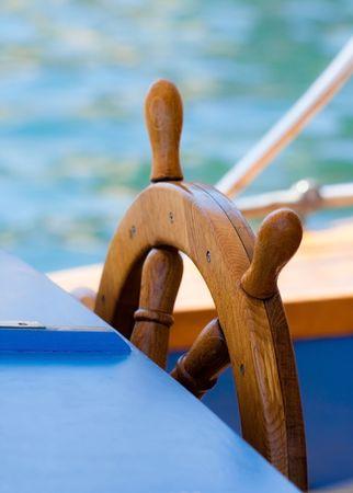 yacht journey in the summer sealine