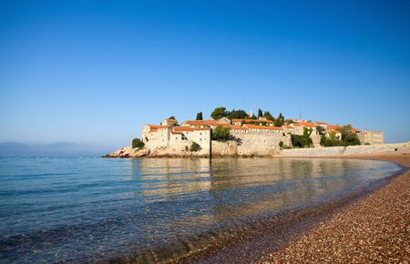 Sveti Stefan island-resort, Montenegro Stock Photo - 9001658